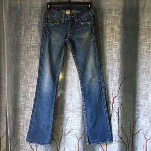 True Religion Becky Medium Wash Boot cut Jeans